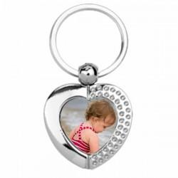 porte clef cœur personnalisé