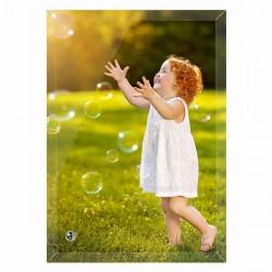 photo personnalisée sur verre