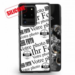 galaxy s20 ultra coque silicone personnalisée