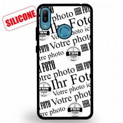 coque silicone personnalisable Huawei Y6