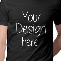 T-Shirt noir personnalisable