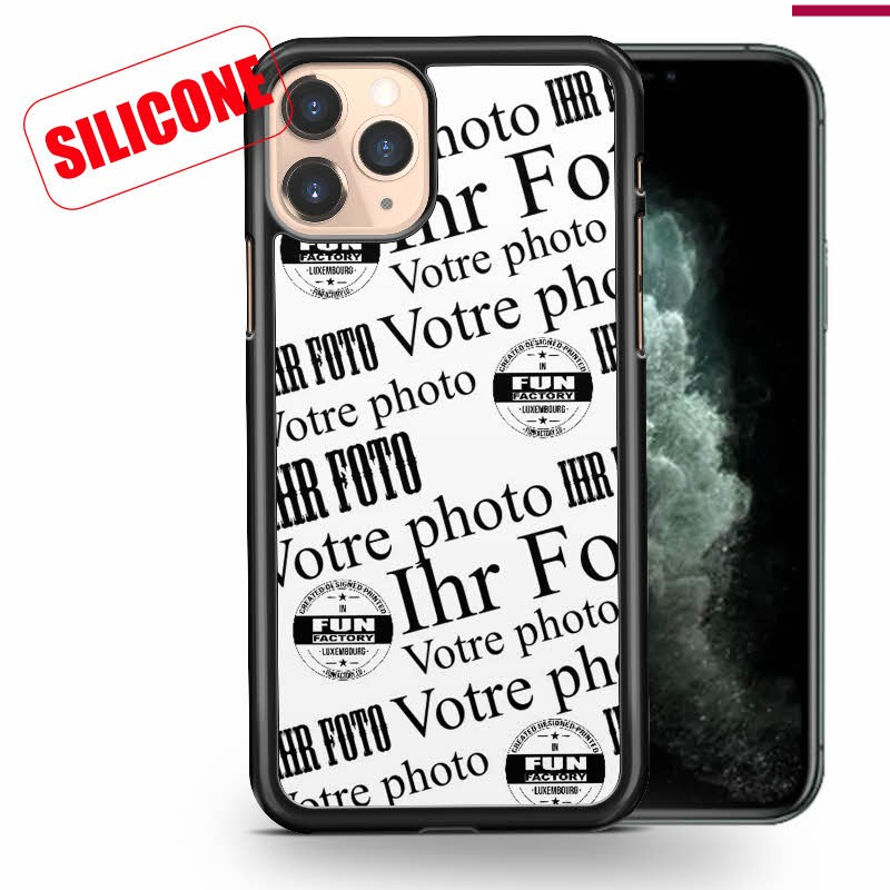 iphone 11 pro coque silicone personnalisée