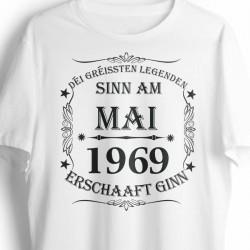 t-shirt BIO anniversaire personnalisé