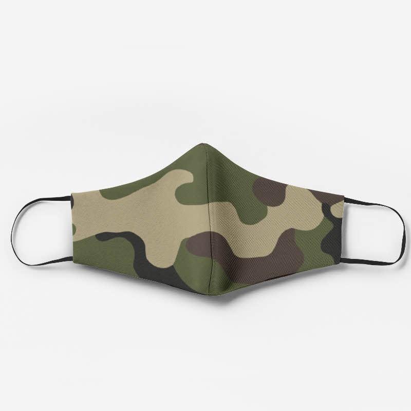 Masque personnalisé camouflage
