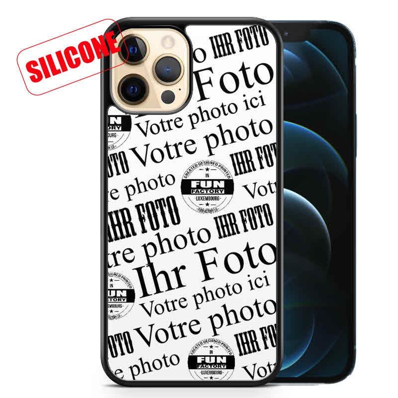 coque silicone personnalisée iphone12