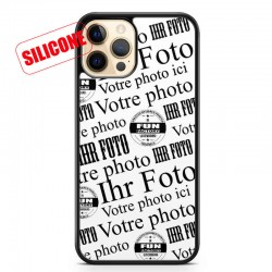 coque silicone personnalisable iphone12 pro