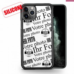iphone 12 pro max coque silicone personnalisable