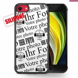 Slikon Hülle gestalten mit Bild iPhone SE 2020